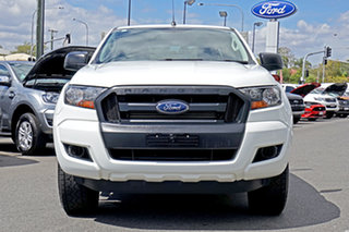 2015 Ford Ranger PX MkII XL Double Cab White 6 Speed Sports Automatic Utility.