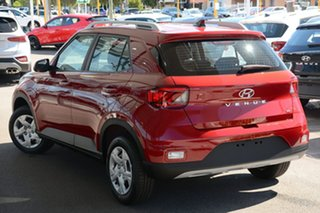 2019 Hyundai Venue QX MY20 Go Fiery Red 6 Speed Automatic Wagon.