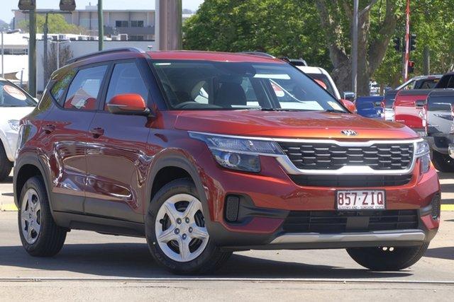 Demo Kia Seltos SP2 MY20 S 2WD, 2019 Kia Seltos SP2 MY20 S 2WD Mars Orange Constant Variable Wagon