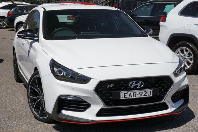Used Hyundai i30 PDe.3 MY19 N Fastback Performance, 2019 Hyundai i30 PDe.3 MY19 N Fastback Performance White 6 Speed Manual Coupe