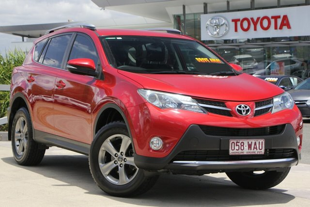 Used Toyota RAV4 ASA44R MY14 GXL AWD, 2015 Toyota RAV4 ASA44R MY14 GXL AWD Wildfire 6 Speed Sports Automatic Wagon