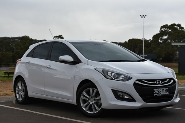 Used Hyundai i30 GD2 MY14 Trophy, 2013 Hyundai i30 GD2 MY14 Trophy White 6 Speed Sports Automatic Hatchback