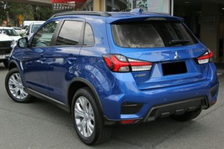 2019 Mitsubishi ASX XD MY20 LS 2WD Lightning Blue 1 Speed Constant Variable Wagon.
