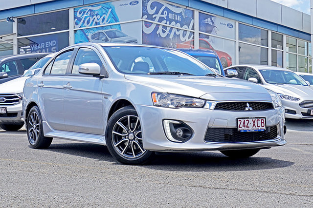 Used Mitsubishi Lancer CF MY17 ES Sport, 2017 Mitsubishi Lancer CF MY17 ES Sport Silver 5 Speed Manual Sedan