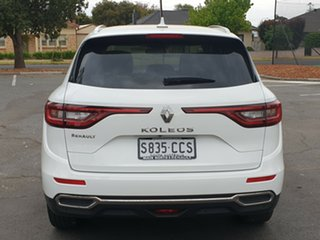 2019 Renault Koleos HZG Intens X-tronic White Solid 1 Speed Constant Variable Wagon
