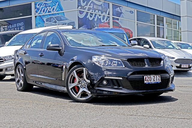 Used Holden Special Vehicles ClubSport Gen-F MY15 R8, 2015 Holden Special Vehicles ClubSport Gen-F MY15 R8 Black 6 Speed Sports Automatic Sedan
