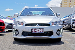 2017 Mitsubishi Lancer CF MY17 ES Sport Silver 5 Speed Manual Sedan.