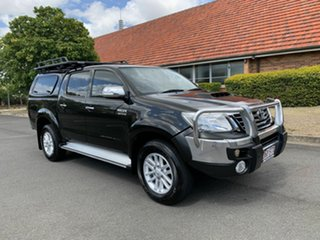 2012 Toyota Hilux KUN26R SR5 Black 5 Speed Manual Dual Cab.