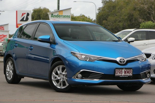 Used Toyota Corolla ZRE182R Ascent Sport S-CVT, 2016 Toyota Corolla ZRE182R Ascent Sport S-CVT Blue 7 Speed Constant Variable Hatchback