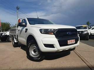 2017 Ford Ranger PX MkII 2018.00MY XL Super Cab 4x2 Hi-Rider White 6 Speed Sports Automatic.