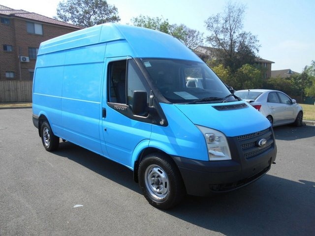 Used Ford Transit VM MY12 Update High (LWB), 2012 Ford Transit VM MY12 Update High (LWB) Blue 6 Speed Manual Van