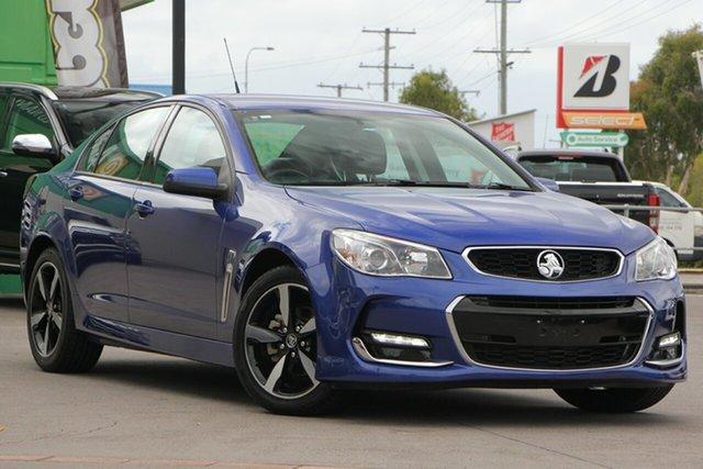Used Holden Commodore VF II MY17 SV6, 2017 Holden Commodore VF II MY17 SV6 Blue 6 Speed Sports Automatic Sedan