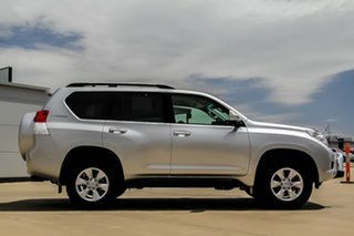 2012 Toyota Landcruiser Prado KDJ150R GXL Silver Pearl 5 Speed Sports Automatic Wagon