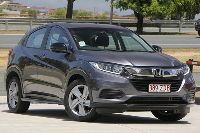 Demo Honda HR-V MY20 50 Years Edition, 2019 Honda HR-V MY20 50 Years Edition Modern Steel 1 Speed Constant Variable Hatchback