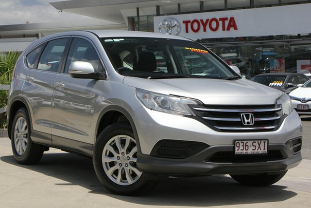 Used Honda CR-V RM VTi, 2013 Honda CR-V RM VTi Silver 5 Speed Automatic Wagon