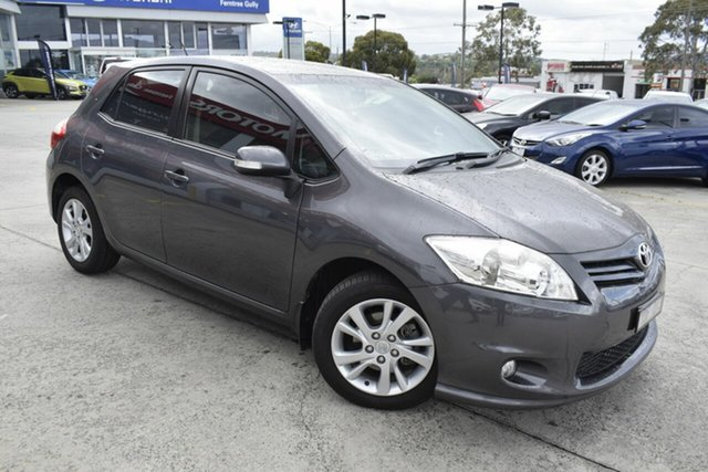 Used Toyota Corolla ZRE152R MY11 Ascent Sport, 2011 Toyota Corolla ZRE152R MY11 Ascent Sport Grey 6 Speed Manual Hatchback