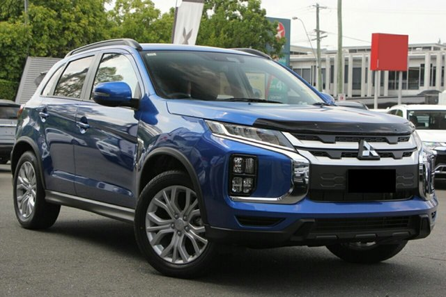 New Mitsubishi ASX XD MY20 LS 2WD, 2019 Mitsubishi ASX XD MY20 LS 2WD Lightning Blue 1 Speed Constant Variable Wagon