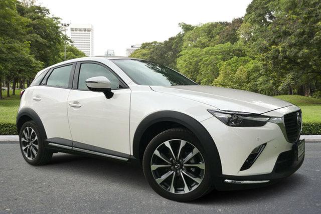 Used Mazda CX-3 DK4W7A sTouring SKYACTIV-Drive i-ACTIV AWD, 2019 Mazda CX-3 DK4W7A sTouring SKYACTIV-Drive i-ACTIV AWD White 6 Speed Sports Automatic Wagon