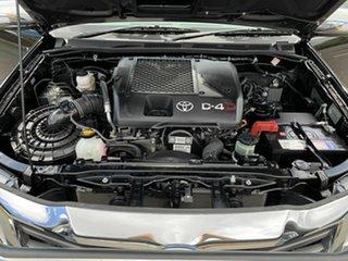 2012 Toyota Hilux KUN26R SR5 Black 5 Speed Manual Dual Cab