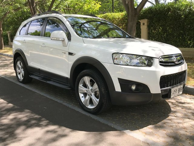 Used Holden Captiva CG Series II MY12 7 AWD CX, 2013 Holden Captiva CG Series II MY12 7 AWD CX White 6 Speed Sports Automatic Wagon