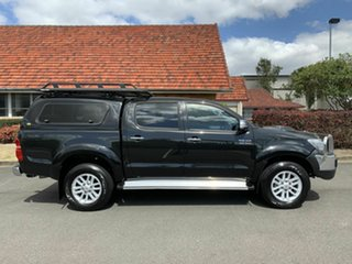 2012 Toyota Hilux KUN26R SR5 Black 5 Speed Manual Dual Cab