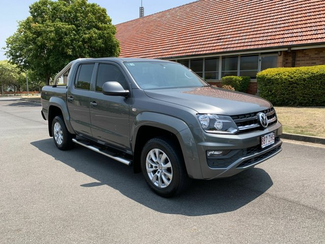 Used Volkswagen Amarok  , 2017 Volkswagen Amarok TDI420 CORE PLUS Grey 8 Speed Automatic Dual Cab