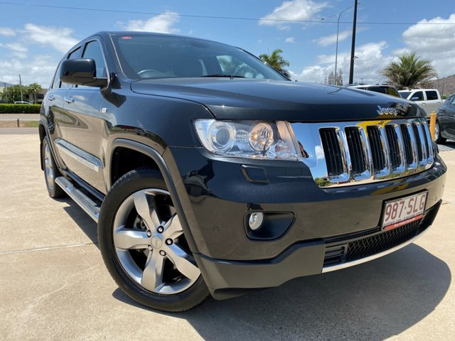 Used Jeep Grand Cherokee WK MY2011 Limited, 2011 Jeep Grand Cherokee WK MY2011 Limited Black 5 Speed Sports Automatic Wagon