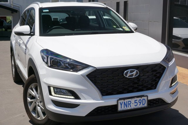 Demo Hyundai Tucson TL4 MY20 Active AWD, 2020 Hyundai Tucson TL4 MY20 Active AWD Pure White 8 Speed Sports Automatic Wagon