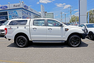 2017 Ford Ranger PX MkII XL Double Cab Plus White 6 Speed Sports Automatic Utility.