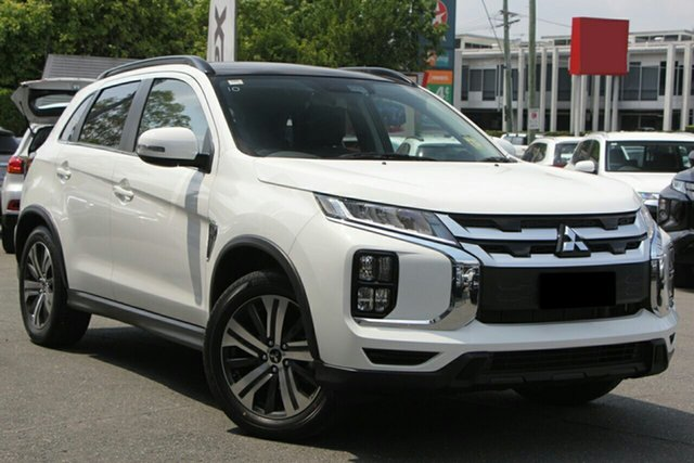 New Mitsubishi ASX XD MY20 Exceed 2WD, 2020 Mitsubishi ASX XD MY20 Exceed 2WD White 1 Speed Constant Variable Wagon