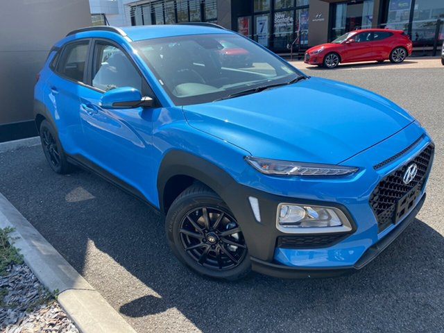 New Hyundai Kona OS.3 MY20 Go 2WD, 2019 Hyundai Kona OS.3 MY20 Go 2WD Blue 6 Speed Sports Automatic Wagon