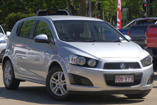 Used Holden Barina TM MY14 CD, 2014 Holden Barina TM MY14 CD Silver 6 Speed Automatic Hatchback