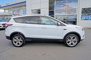 2018 Ford Escape ZG 2018.00MY Titanium PwrShift AWD Frozen White 6 Speed