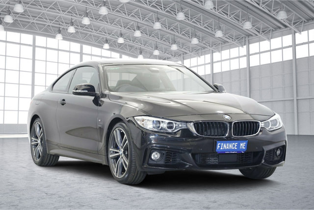Used BMW 4 Series F32 435i, 2016 BMW 4 Series F32 435i Black 8 Speed Sports Automatic Coupe