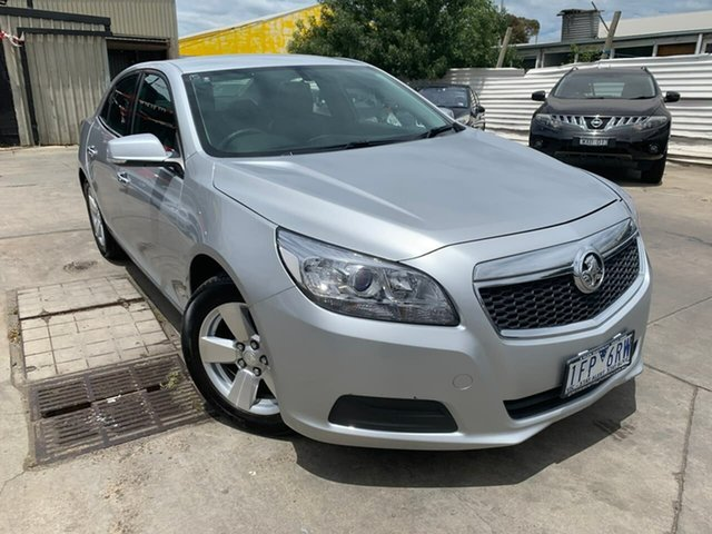 Used Holden Malibu V300 MY15 CD, 2015 Holden Malibu V300 MY15 CD Silver 6 Speed Sports Automatic Sedan
