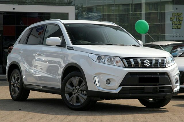 New Suzuki Vitara LY Series II 2WD Mount Gravatt, 2020 Suzuki Vitara LY Series II 2WD White 6 Speed Sports Automatic Wagon