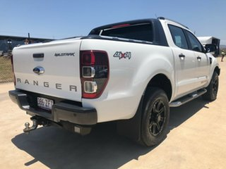 2015 Ford Ranger PX Wildtrak Double Cab White 6 Speed Sports Automatic Utility.