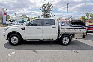 2015 Ford Ranger PX MkII XL Double Cab White 6 Speed Sports Automatic Utility