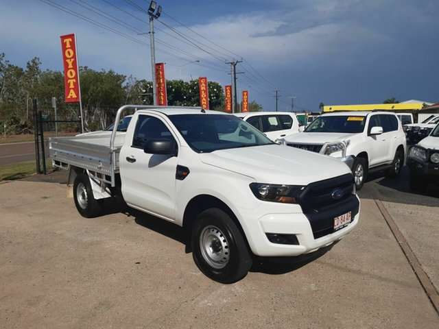 Used Ford Ranger PX MkII 2018.00MY XL Super Cab 4x2 Hi-Rider, 2017 Ford Ranger PX MkII 2018.00MY XL Super Cab 4x2 Hi-Rider White 6 Speed Sports Automatic