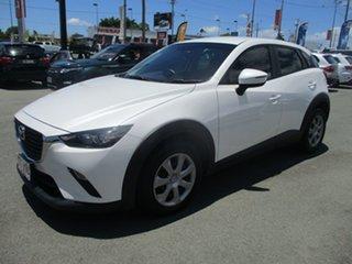 2016 Mazda CX-3 DK2W76 Neo SKYACTIV-MT White 6 Speed Manual Wagon.
