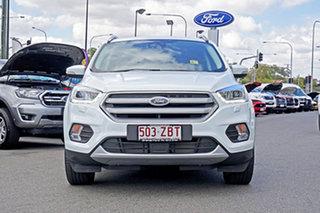 2018 Ford Escape ZG 2018.00MY Titanium PwrShift AWD Frozen White 6 Speed.