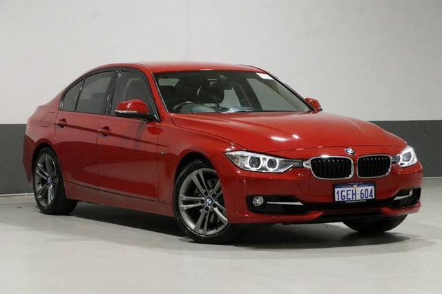 Used BMW 328i F30 MY15 Sport Line, 2015 BMW 328i F30 MY15 Sport Line Red 8 Speed Automatic Sedan