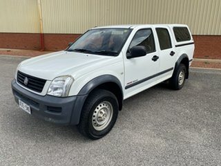 2005 Holden Rodeo RA MY05.5 LX Crew Cab 5 Speed Manual Cab Chassis.