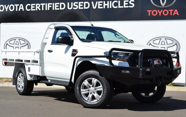 Used Ford Ranger PX XL 3.2 (4x4), 2015 Ford Ranger PX XL 3.2 (4x4) White 6 Speed Manual Cab Chassis
