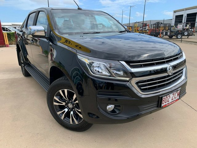 Used Holden Colorado RG MY19 LTZ Pickup Crew Cab, 2019 Holden Colorado RG MY19 LTZ Pickup Crew Cab Mineral Black 6 Speed Sports Automatic Utility