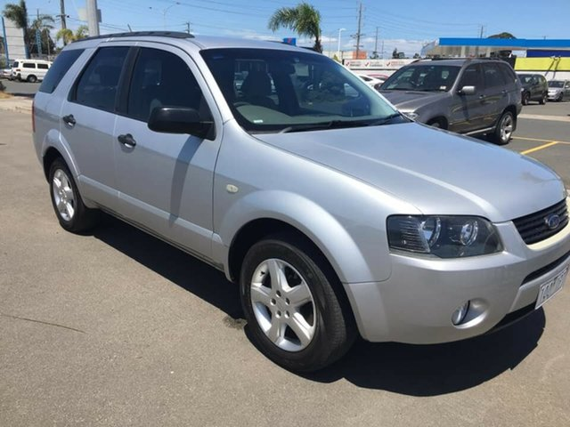 Used Ford Territory SX TX, 2004 Ford Territory SX TX Silver 4 Speed Sports Automatic Wagon