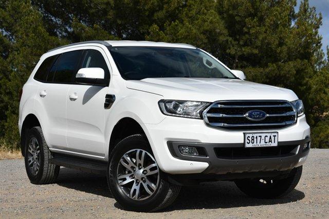 Demo Ford Everest UA II 2019.00MY Trend 4WD, 2019 Ford Everest UA II 2019.00MY Trend 4WD Arctic White 10 Speed Sports Automatic Wagon