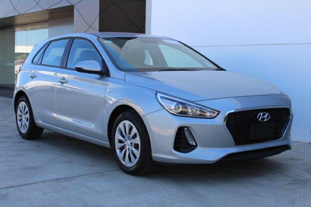 Demo Hyundai i30 PD.3 MY20 Go, 2019 Hyundai i30 PD.3 MY20 Go Typhoon Silver 6 Speed Sports Automatic Hatchback