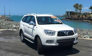 2018 Foton Sauvana U201 MY18 Luxury White Automatic Wagon.