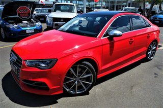 2014 Audi S3 8V MY14 S Tronic Quattro Red 6 Speed Sports Automatic Dual Clutch Sedan.